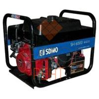 Генератор бензиновый SDMO 6000 SH (5,5 кВт)