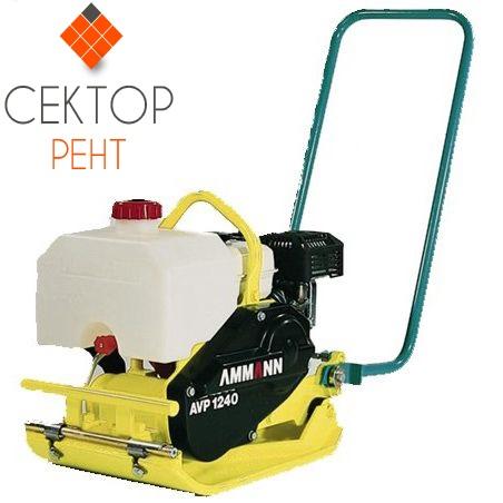 Виброплита бензиновая  AMMAN AVP1240 </br> (75 кг)
