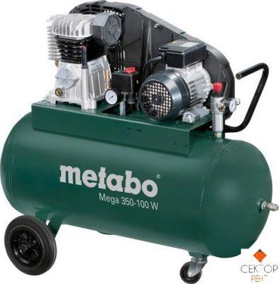 Компрессор поршневой METABO MEGA 350-100 W