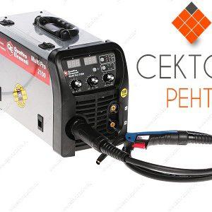 Инвертор полуавтоматической сварки QUATTRO ELEMENTI Multi Pro 2100