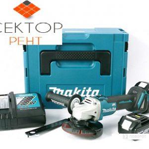 Аккумуляторная угловая шлифовальная машина Makita DGA504RF